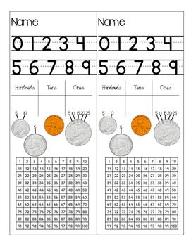 2nd Grade Math Bookmarks