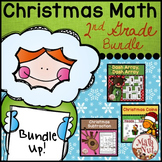 """Christmas Math Bundle """"2nd Grade Math"""""""