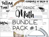 2nd Grade Math Bundle #1