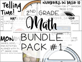 2nd Grade Math Bundle #1
