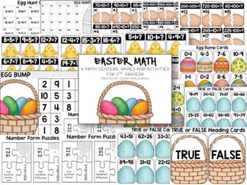 2nd Grade Math Bundle #2