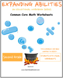 Grade 2 Math Bundle for Visually Impaired - Geom,Algebra,M & D,Base 10
