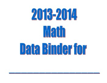 2nd Grade Math CCSS Data Binder Bar Graphs