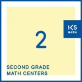 2nd Grade Math Centers for the Entire School Year
