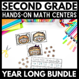 2nd Grade Math Centers - GROWING Bundle!