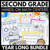 HUGE Bundle of Hands-On Math Activities & Games for 2nd Gr
