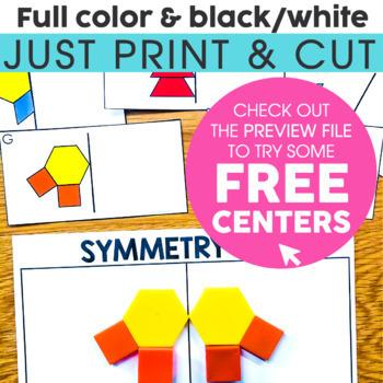 2nd Grade Math Centers Growing Bundle