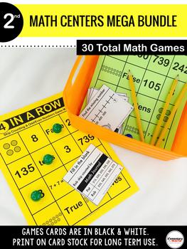 2nd Grade Math Centers MEGA BUNDLE