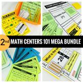 2nd Grade Math Centers 101 MEGA BUNDLE