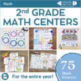 2nd Grade Math Centers MEGA Bundle