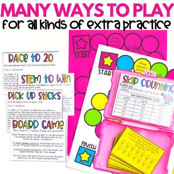 2nd Grade Math Centers   Math Games BUNDLE   Second Grade