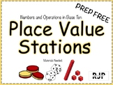 Place Value Centers (Prep-Free)