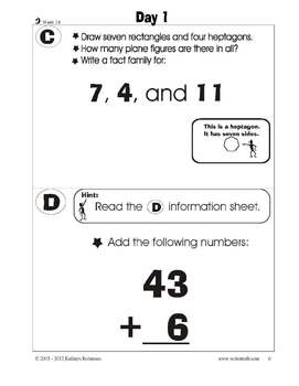 2nd Grade Math Worksheets | 10 Weeks of Daily Common Core Aligned Math