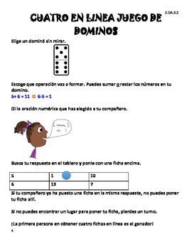 Bilingual Centers - Centros de Matemáticas para 2do Grado
