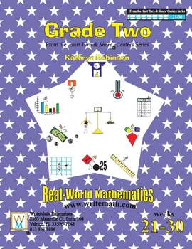 Daily 2nd Grade Math Centers (Weeks 21 - 30) | Common Core Aligned Math Lessons