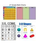 2nd Grade Math Charts
