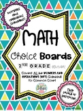 2nd Grade Math Choice Boards CCSS: Numbers and Operations