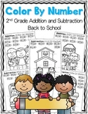 2nd Grade Math Color By Number {Common Core Aligned}