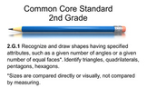 2nd Grade Math Common Core 2.G.1 SMART