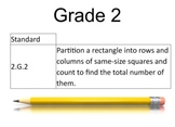 2nd Grade Math Common Core 2.G.2 SMART
