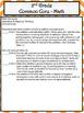 2nd Grade Math Common Core Checklist - Lesson Planning For
