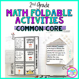 2nd Grade Math Common Core Flip Flap Foldable Activities