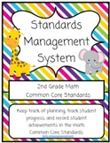2nd Grade Math Common Core Standards Management System!