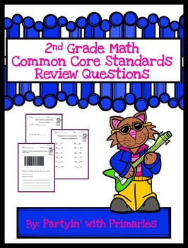 2nd Grade Math Common Core Standards Review Questions