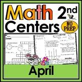 2nd Grade Math Crossword Puzzles - April