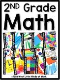 2nd Grade Math Curriculum Bundle | Homeschool Compatible |
