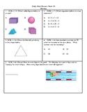 2nd Grade Math Daily Review Week 30