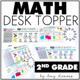 Math Desk Topper:  2nd Grade