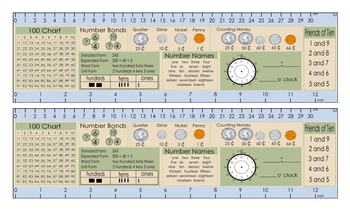 2nd Grade Math Common Core Desktop Card