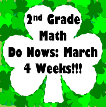 2nd Grade Math Do Now: March