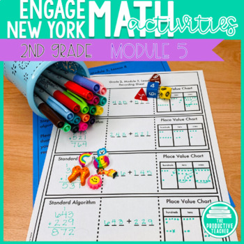 2nd Grade Math Engage New York Aligned Activities: Module 5