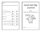 2nd Grade Math Expressions Unit 6 Formative Assessment Journal