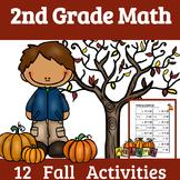 2nd Grade Math: FALL- 12 Fall Math Activities