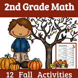 2nd Grade Math: FALL- 12 Fall Math Activities