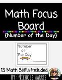 2nd Grade Math Focus Bulletin Board