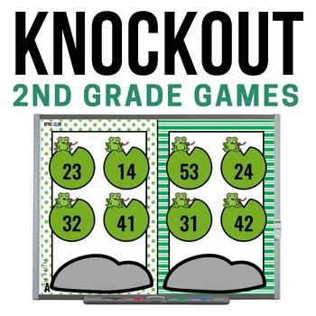 2nd Grade Math Game [April Knockout Club]