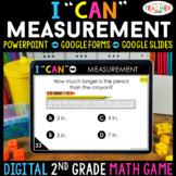 2nd Grade Math Game DIGITAL | Measurement | Distance Learning