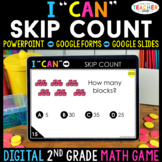 2nd Grade Math Game DIGITAL | Skip Counting | Distance Learning