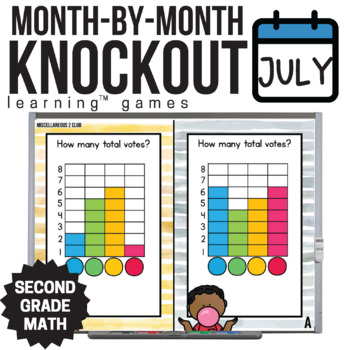 2nd Grade Math Game [Review Part 2 Knockout Club]