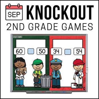 2nd Grade Math Game [September Knockout Club]