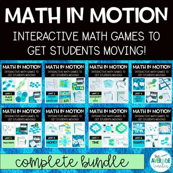 2nd Grade Math Games - Complete Bundle