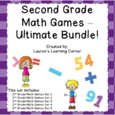 2nd Grade Math Games - MEGA Ultimate Bundle - Common Core Aligned