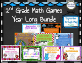 2nd Grade Math Games MEGA YEAR LONG BUNDLE: 43 games!!