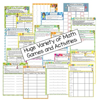 2nd Grade Math Games - Ultimate Bundle - Common Core Aligned