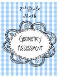 2nd Grade Math Geometry Assessment