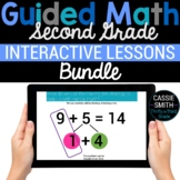 2nd Grade Math Google Classroom Digital Bundle (For Distan